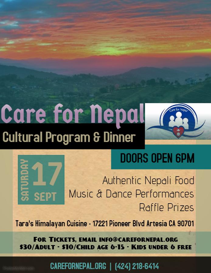 Cultural Program Poster
